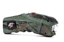 Stun Gun for Self Defense with Alarm Bright Led Flashlight Maximum Power Camoflg