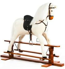 "Brand New LUXURIOUS EXTRA LARGE Rocking Horse ""PRECIOUS"" SIZE XL age 6 -13 years"