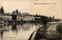 CPA Marcilly sur Seine - Les Quais (364488)