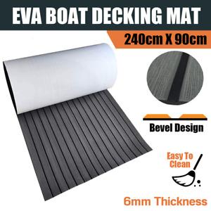 Dark Grey EVA Boat Teak Decking Flooring Charcoal Mat Marine Foam Marine Yacht