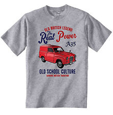 VINTAGE BRITISH AUSTIN A35 - NEW COTTON T-SHIRT