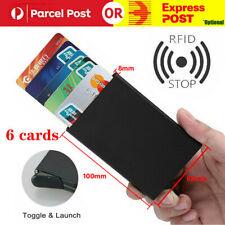 Aluminum Slim Wallet RFID Blocking ID Credit Card Holder Case Protector Purse