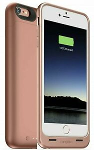 Mophie Juice Pack Protective Battery Case for iPhone 6 Plus & 6s Plus Rose Gold
