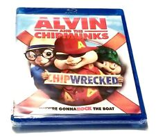 Blu-ray Disc Alvin And The Chipmunks Chipwrecked Brand New Sealed Chipmunks 3