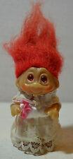 Rara Vintage presa Troll 1985 Novia Retro Juguetes