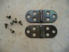 """Minnesota Model A Treadle Sewing Machine Parts Top Board 3"""" Hinges"""