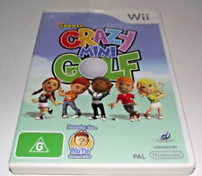 Crazy Mini Golf Kidz Sports Nintendo Wii PAL *Complete* Wii U Compatible