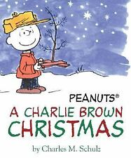 PEANUTS SNOOPY A CHARLIE BROWN CHRISTMAS CLASSIC TV MINI BOOK HARDCOVER