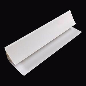 White Coving 5mm Trim For Ceiling Cladding PVC Bathroom Wet Wall Panels 2.6m