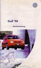 VW Golf - Reparaturleitfaden Video - Golf ´98