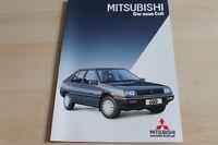 109603) Mitsubishi Colt Prospekt 02/1984