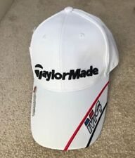 Taylormade M4 Golf Cap Hat with Magnetic Ball Marker One Size Adjustable White