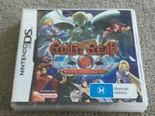 Guilty Gear Dust Strikers - Nintendo DS - Complete - PAL - Free Postage