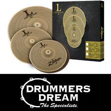 "Zildjian L80 LOW VOLUME Cymbal Box Set - 13"" HiHat/14"" Crash/18"" CrashRide"