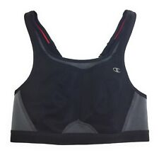 Champion Women's Max Support Sports Bra Gray / Pink / Black Size 34C