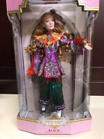 """RARE Disney'Alice Through The Looking Glass Alice Doll Beautifully Detailed 17"""""""