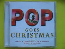 V/A-POP GOES CHRISTMAS. CD ALBUM. SPICE GIRLS, IAN DURY, T REX, ROY WOOD. EX CON