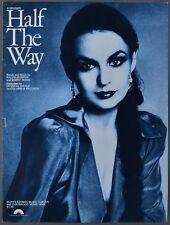 1979 HALF THE WAY Murphy & Wood CRYSTAL GAYLE Sheet Music