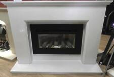 Madison Marble Fireplace with 4.2Kw Gas Fire Remote Control Free Local Delivery
