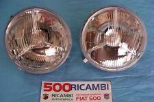 FIAT 500 F/L/R COPPIA 2 FARI PROIETTORE FANALE GRUPPO OTTICO ANTERIORE DX + SX