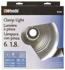"Woods Clamp Light 8.5"" 0169 - Set of 4 - New in box"