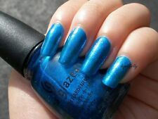 China Glaze BLUE IGUANA 80704 (14ml) New: Freepost Australia