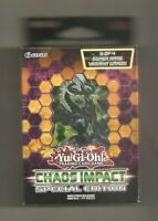 Chaos Impact Yu Gi Oh SE Special Edition Mini Box 3 Packs + Super Rares