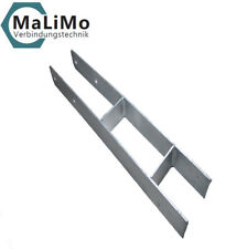 MaLiMo H-Anker 800mm Pfostenträger H-Träger Carport Pfostenanker feuerverzinkt