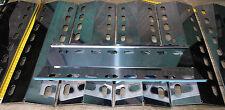 2 Stück 435mm x 150mm V4A Edelstahl Brennerschutz Gasgrill Flammenabdeckung BBQ