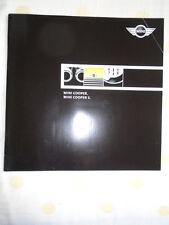 Mini Cooper & Cooper S range brochure 2002 USA market