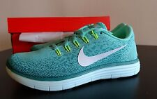 NWB- NIKE FREE RN DISTANCE- WOMENS 6.5- Running Shoes- Turquoise