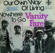 """7"""" 1971 RARE IN VG+++ ! VANITY FARE : Own Way Of Living"""