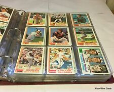 1982 Topps complete set in binder (792 cards) Cal Ripken Jr. RC NMMT++ vending