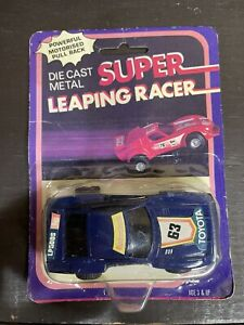 Vintage Die Cast Super Leaping Racer Car Toyota Rodenstock *New Sealed* RARE OOP