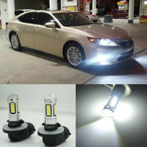2x White 6000K 881 30-SMD LED Projector Light Bulbs For Fog Lights/High Beam DRL
