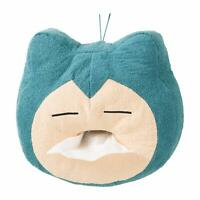 Pokemon Center 2019 Original Snorlax Yawn Kabigon Plush Tissue Box Cover