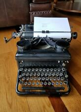 Vintage 1930's ROYAL Typewriter Serial# KH-1817407 Great Working Condition