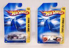Hot Wheels 2008 New Models Car Lot  #4 Ratbomb & #22 RocketFire Mattel 1:64