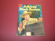 JOHNNY MACK BROWN #685 Dell Four Color 1956 western