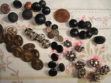 PETITS BOUTONS anciens de Bottines, Vêtements de poupées , Chaussures d'Enfant