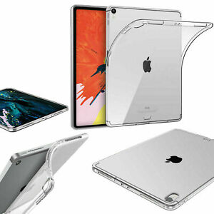 Clear TPU Silicone Gel Case Cover For Apple iPad  AIR  2 3 4 10.2 10.9 10.5 12.9