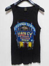 692f4e0867b8f7 VINTAGE HARLEY DAVIDSON Tank Top - Men s Size XL - 1986 Licensed Muscle  Shirt