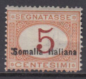 Italy Somalia Tax Sassone n.23 cv 600$ MNH**