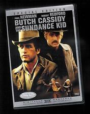 Butch Cassidy & the Sundance Kid Spec Ed. (Dvd) Paul Newman Robert Redford Nmt
