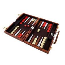 Backgammon mit Kunstleder Koffer 36 x 27,5 cm P-170