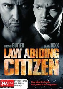 LAW ABIDING CITIZEN starring Gerard Butler (DVD, 2010) - LIKE NEW!!!
