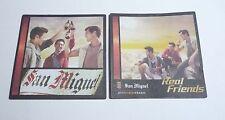 HONG KONG Beer Mat Coaster SAN MIGUEL Real Friends 2013 Just Between English