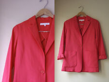 Apiece Apart Bright Salmon Colored Classic Oversized Pockets Blazer Jacket 2