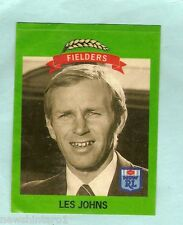 1990 CANTERBURY BULLDOGS  FIELDERS RUGBY LEAGUE STICKER #17  LES JOHNS