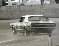 Vintage 8 x 10 1967 Daytona Dan Gurney Mercury Cougar Trans Am